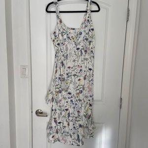 H&M floral dress, size 10